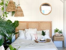 Neutral Tropical Bedroom Ideas