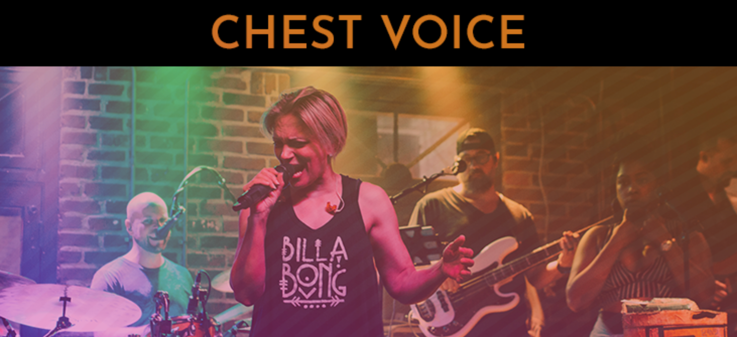 chest voice. how to sing chest voice