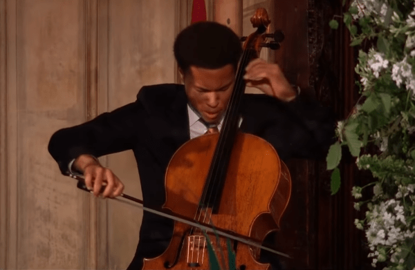 cellist at royal wedding