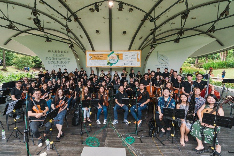 MPPO with the Chinese Orchestra (Photo credit: Aloysius Lim)