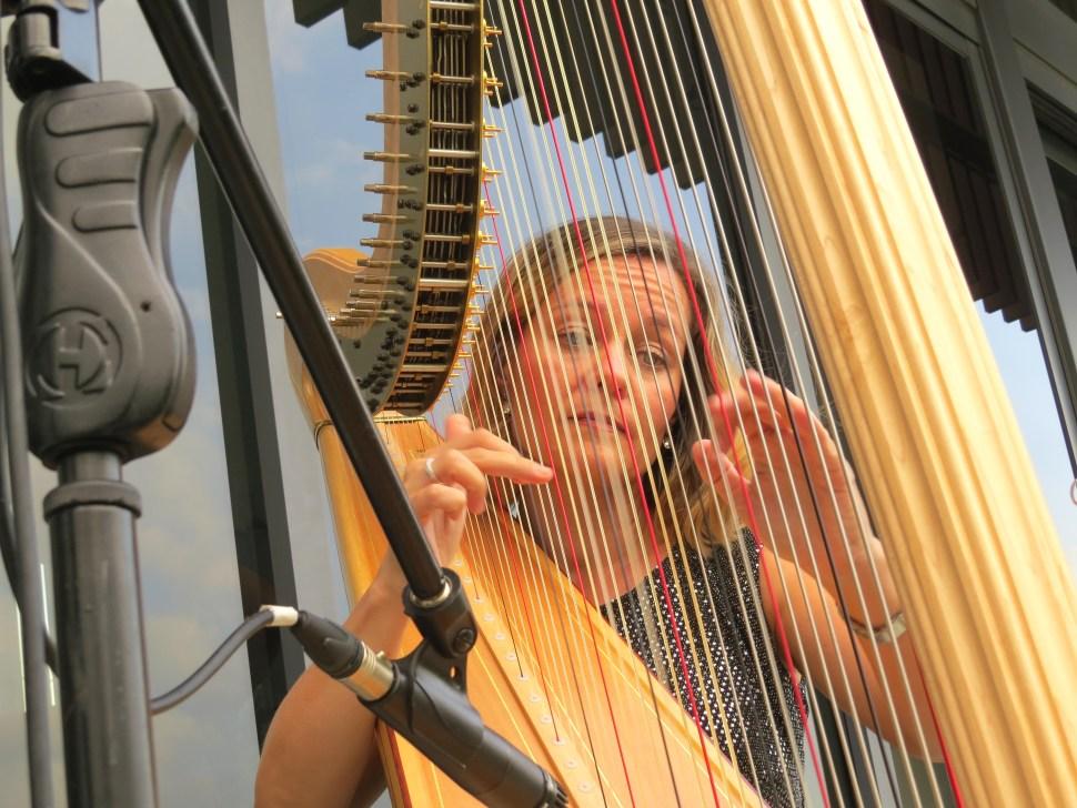 Singapore Harpist