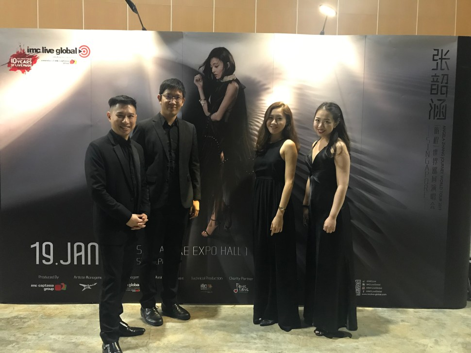 Vocalise String Quartet Singapore Group 4