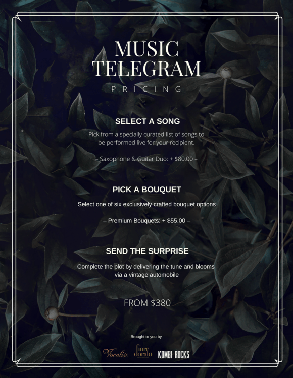 Fees for Music Telegram