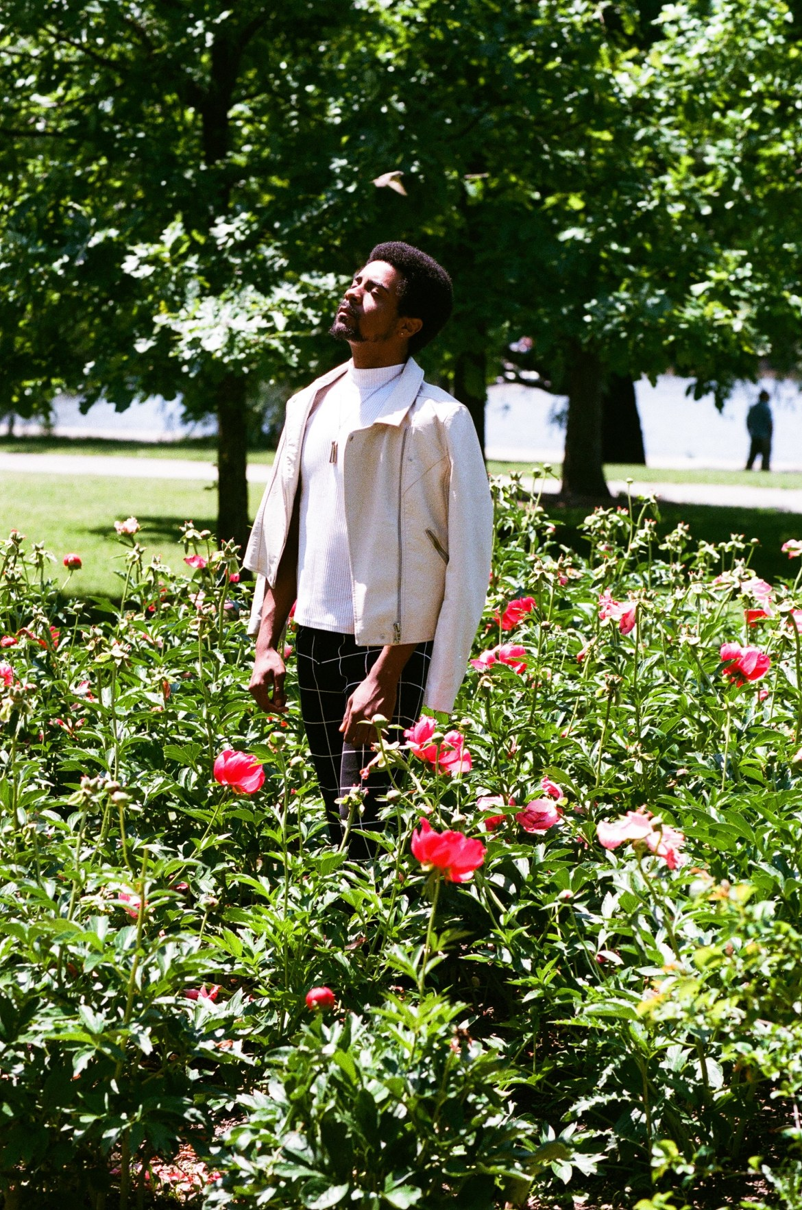 Nate in Flowers 1