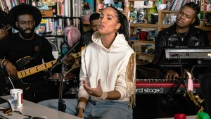 Snoh Aalegra Tiny Desk Concert