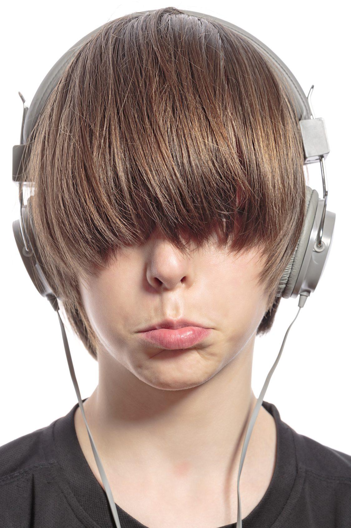 Adolescent boy, teenage voice change