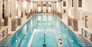 RAC Club underground pool