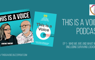 This is a Voice podcast Episode 1 Who we are and what we do including surviving Lockdown
