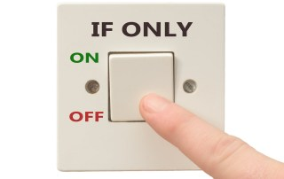 """""""If only"""" - a switch with ON and OFF"""