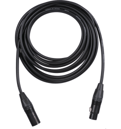 vocas audio cable stereo dual channel xlr 5 pin female to xlr 5 [ 1000 x 1000 Pixel ]