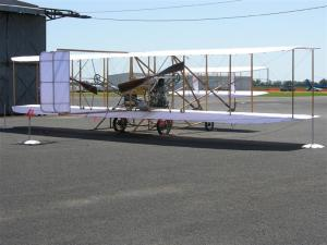 Wright Flyer on Display (Medium)