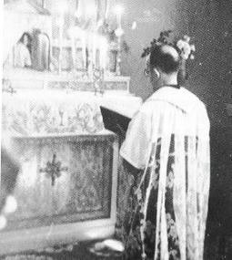 Fr. Justins praying