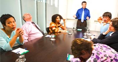Secondo una ricerca di Icm Research per Canon Europe , al primo posto tra le cause di stress da ufficio ci sono i meeting aziendali