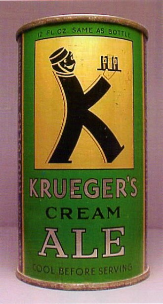 La Krueger's Cream Ale, la prima birra in lattina, risale al 1935