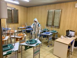 L'Esercito sanifica le scuole nel messinese prima degli esami di maturità (3)