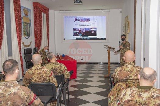 2. Briefing pre-missione al Comandante del Reparto in esercitazione