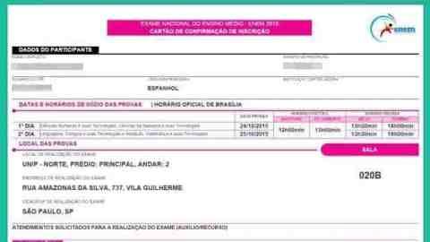 Mais de 6 milhões acessaram inscrição do Enem