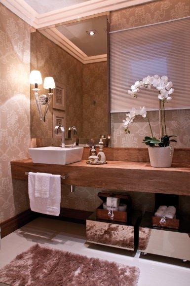 Você precisa decor » Arquivo Decor Espelho bronze  Você precisa decor -> Decoracao Banheiro Lavabo