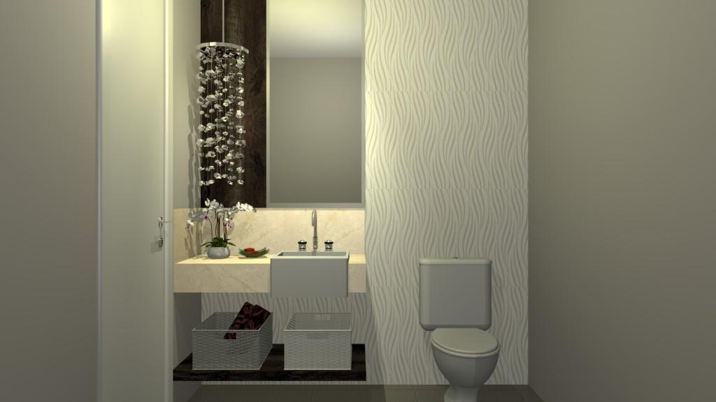 Lavabo papel de parede