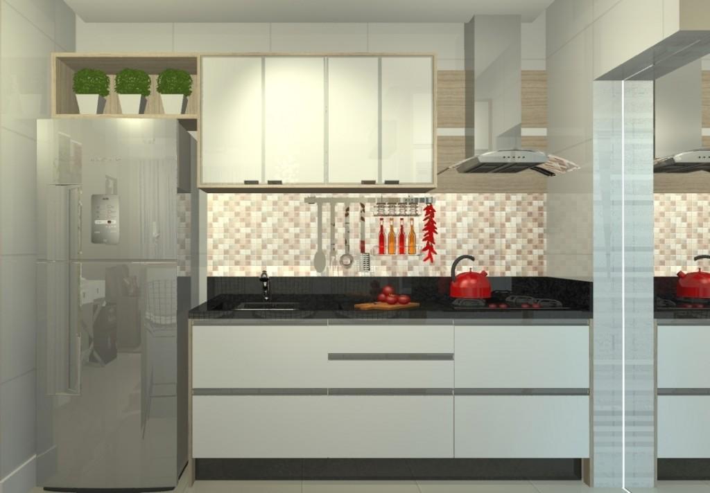 cozinha linear voceprecisadecor.com.br