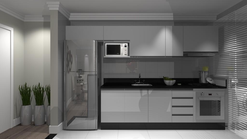 cozinha linear05 voceprecisadecor.com.br