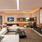 Decor: Sala de tv com home