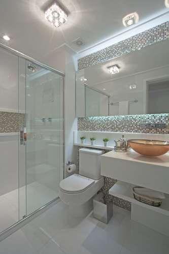 Você precisa decor » Arquivo Decor Nichos em banheiros!  Você precisa decor -> Banheiro Com Pastilhas No Vaso