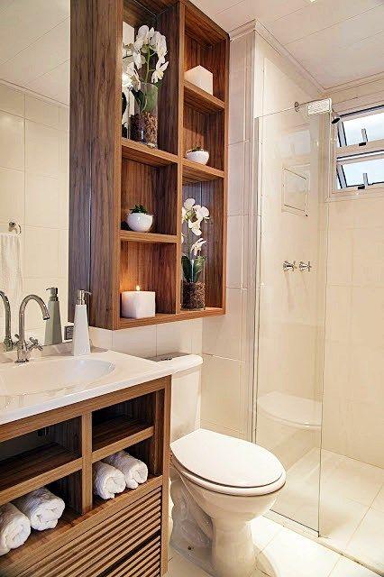Você precisa decor » Arquivo Decor Nichos em banheiros!  Você precisa decor -> Decoracao De Banheiros Com Artesanato