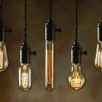Decor: Luminárias com lâmpada de filamento