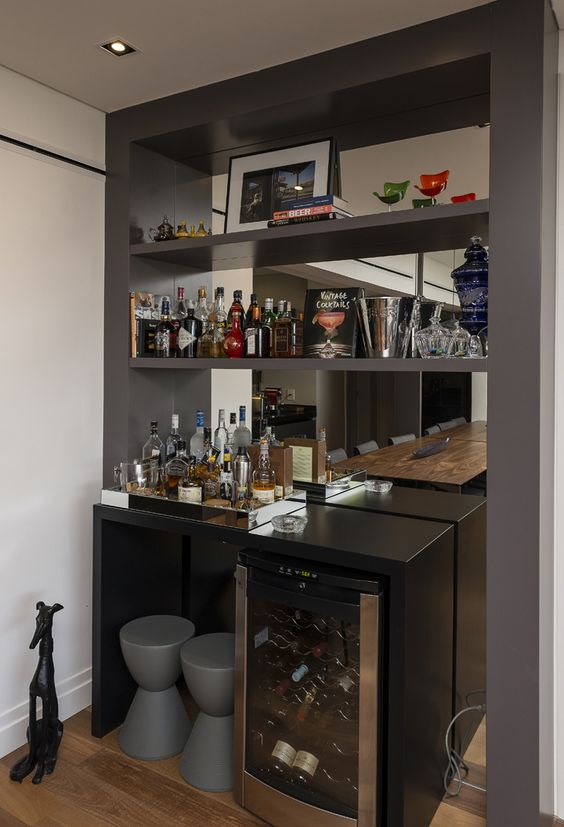 Voc precisa decor arquivo barzinho for Bar de madera para sala