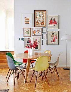 mesa redonda 6 lugares