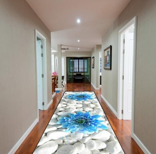 tapete para corredor 3d