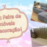 Vlog feira de moveis e decoração
