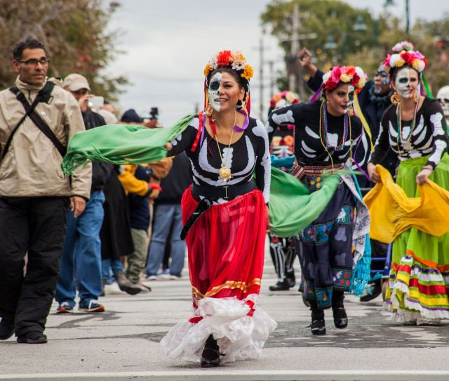 Latino Cultural Event Dia De Muertos Day Of The Dead