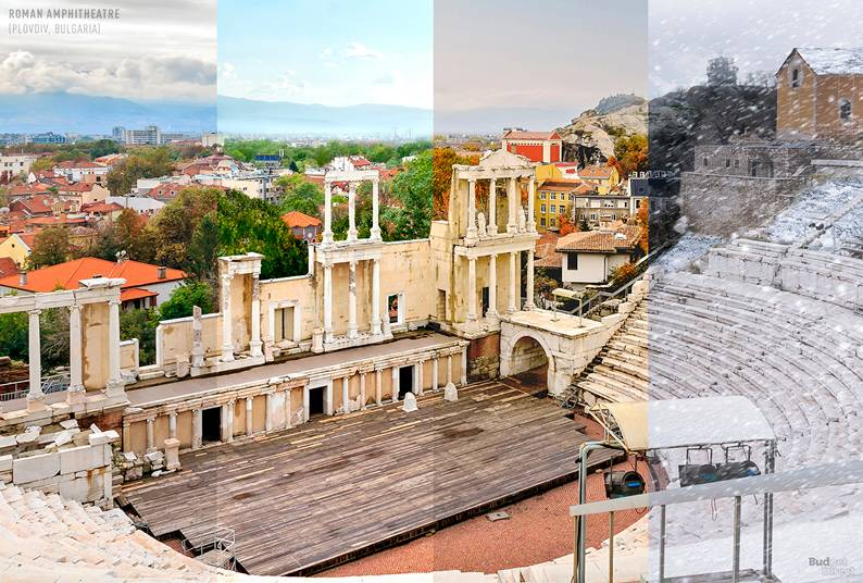 Anfiteatro Romano (Plovdiv, Bulgária)