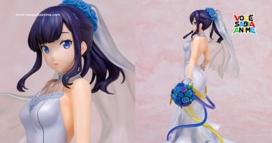 Figure de Noiva da Rikka está pronta pro Casório
