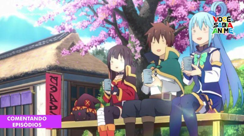 Comentando Konosuba Kurenai Densetsu - A Fase Popular do Kazuma