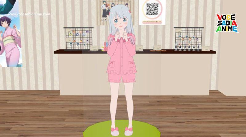 Eromanga Sensei abre loja Temporária no VRChat