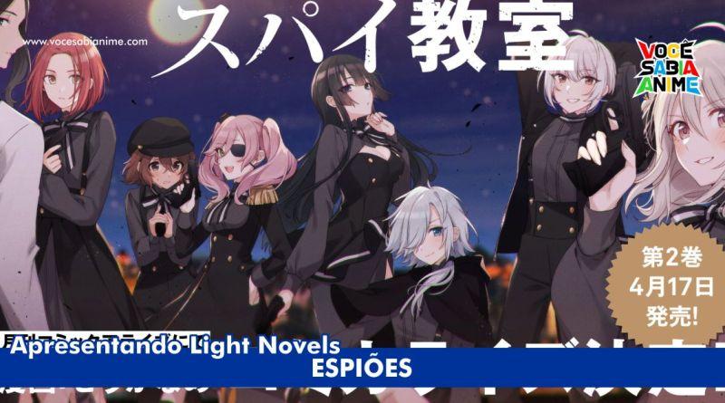 Light Novel Spy Room ganha Mangá
