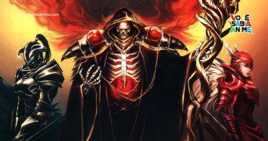 Light Novel de Overlord acaba em 3 Volumes