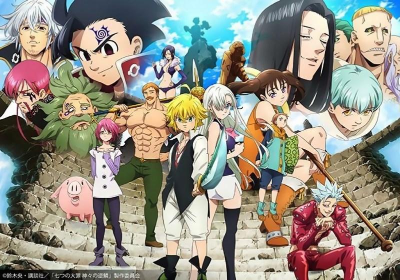 Nanatsu no Taizai terá novo anime para Outubro e novo Mangá