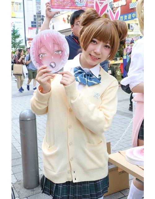 O dia em que Hajimete no Gal distribuiu Máscaras Hentai