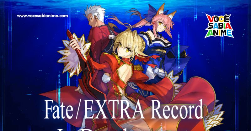 Game Fate/Extra Record anunciado
