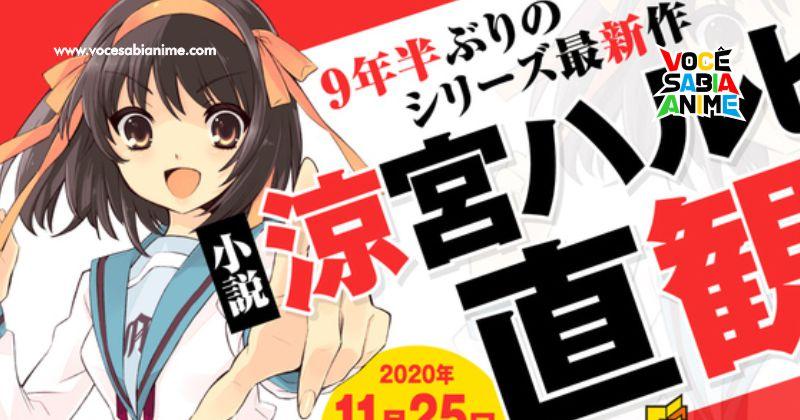 9 Anos depois - Novo Volume da Light Novel de Suzumiya será Lançado