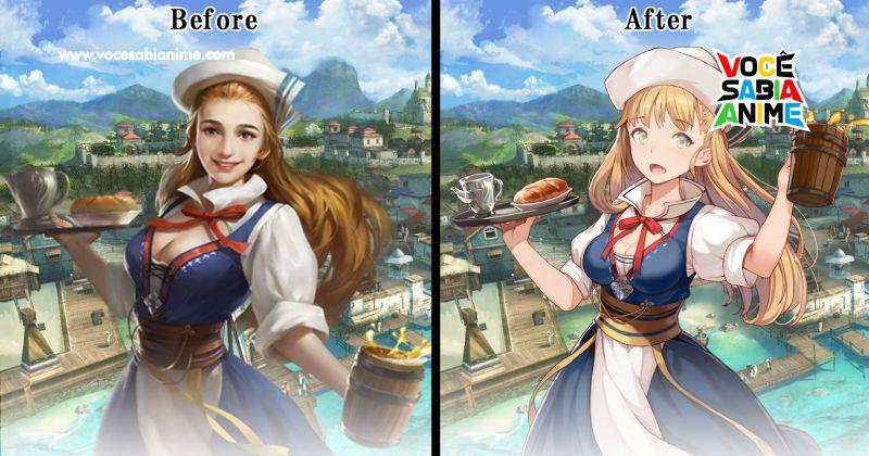 Game Muda visual mais Realista por Moe
