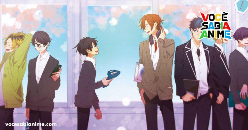 Anime de Sasaki to Miyano anunciado