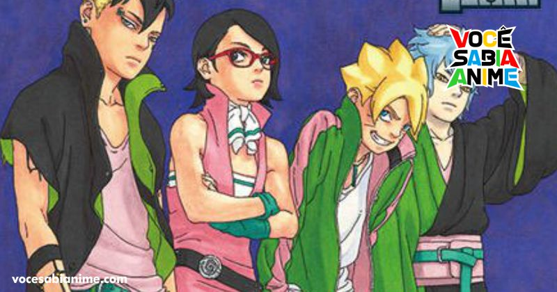 Kishimoto será o escritor principal do mangá de Boruto