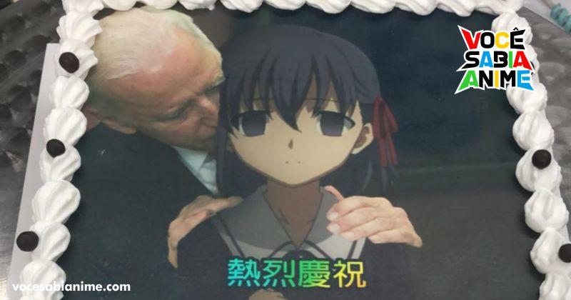 Padaria em Hong Kong bota Biden cheirando Sakura