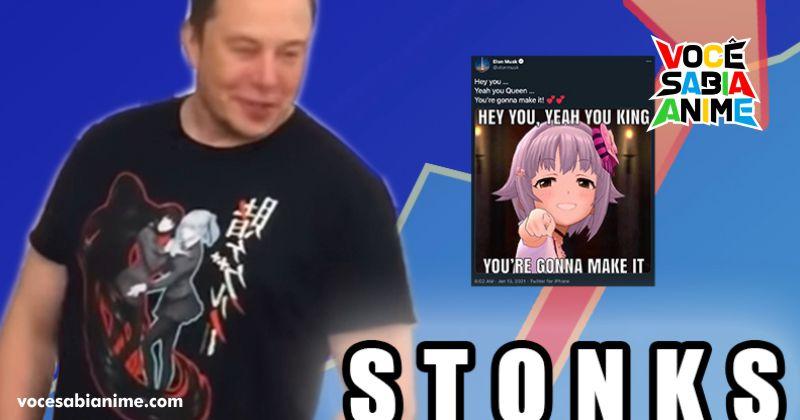 Elon Musk publicou sobre Idolmaster