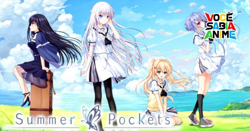 Key planeja anime de Summer Pocket entre outros